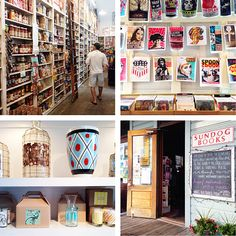 What to Eat, See and Do in Seaside Florida- this is a shop-- but it is my dream pantry/larder set-up with books