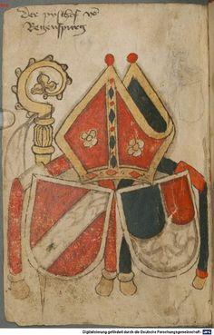 Ortenburger Wappenbuch Bayern, 1466 - 1473 Cod.icon. 308 u  Folio 161v