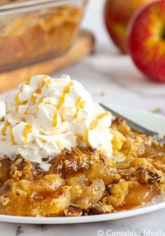 Baked Macaroni & Cheese with a secret ingredient! - CentsLess Meals Coconut Pecan Cookie Recipe, Pecan Cookie Recipes, Dump Cake Recipes, Baking Recipes, Dessert Recipes, Apple Recipes, Apple Desserts, Homemade Desserts, Frosting Recipes