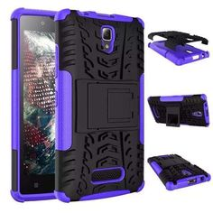 For Lenovo A2010 Cover TPU & PC Dual Armor case with Stand Holder Hard Silicone Cover Shock Proof Anti-Skid Combo 2010 Case