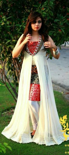 Latest Best Party Wear Frocks & Gowns for Women Fancy Embroidered Collection Indian Fashion Dresses, Indian Designer Outfits, Pakistani Dresses, Indian Outfits, Designer Dresses, Fashion Outfits, Pakistani Frocks, Fashion Blouses, Women's Fashion