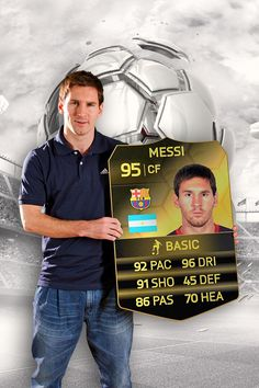 That's a decent pack pull, Leo! #Messi is IN-FORM and available in the #FUT Team of the Week.
