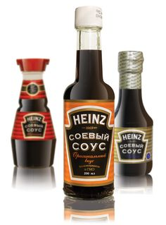 Heinz Soy redesign