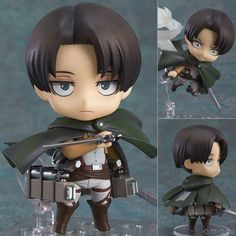 Attack-on-Titan-Levi-Rivaille-fighting-390-change-face-Nendoroid-Action-Figure