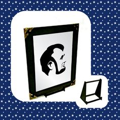 Abraham Lincoln Engraved Mirror Only Wall Hanger, Abraham Lincoln, Adhesive, Symbols, Letters, Mirror, Gifts, Stuff To Buy, Presents