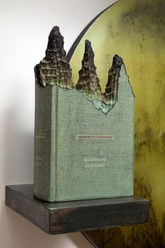 New book carvings by Guy Laramee