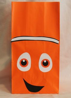 Nemo party bags are great to send guests home with treats after your movie party - Theme your next family movie night with this tip from Southern Outdoor Cinema.