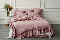 """Explore our website for more info on """"murphy bed ideas ikea queen size"""". It is actually a great spot for more information. Best Bedding Sets, Bedding Sets Online, Luxury Bedding Sets, Comforter Sets, King Comforter, Luxury Duvet Covers, Bed Duvet Covers, Camas Murphy, Washed Linen Duvet Cover"""