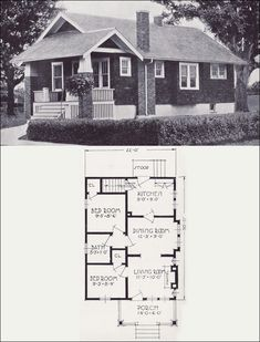 Find This Pin And More On Vintage House Plan Collection For Reference