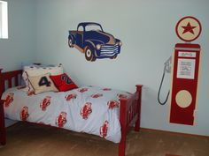 Little boys bedroom...perfect for a son of Kyle :)
