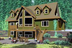 House Plan chp-46224 at COOLhouseplans.com