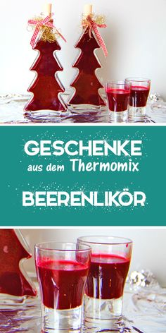Liqueurs from the Thermomix are always well received and are a great souvenir or gift. I am very happy to give the berry liqueur away for Christmas or as a gnome gift. This recipe from the Thermomix i Cocktail Drinks, Cocktail Recipes, Liqueur, Toffee, Berries, Food And Drink, Tasty, Homemade, Cooking