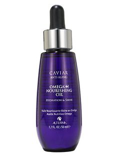 This Alterna hair oil moisturizes, softens, and strengthens dry, overprocessed, or otherwise wrecked hair....