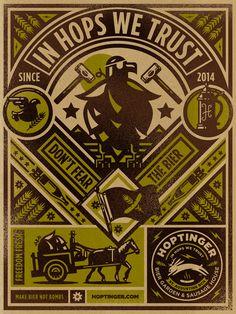 Saved by Kendrick Kidd (kendrickkidd). Discover more of the best Hoptinger, Illustration, Kidd, Bier, and Poster inspiration on Designspiration Graphic Design Art, Graphic Design Inspiration, Typography Design, Print Design, Label Design, Propaganda Art, Beautiful Posters, You Draw, Illustrations