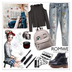"""""""Romwe 3/10"""" by smajicelma ❤ liked on Polyvore featuring Chanel, Marc Jacobs, NARS Cosmetics and Avon"""