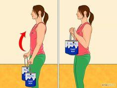 Immagine titolata Make a Homemade Weight Set Step 10- Usa dei barattoli di vernice