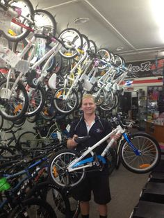 Belrose Bicycles ByK Stockist, Adrian Band, loves the ByK's so much he customised one for his 4 year old son - spending over 12 hours and ending up with a kids bike worth nearly $3000!