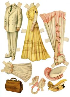 https://flic.kr/p/cKLMyY | Mrs. Higgerson's paper dolls | en.wikipedia.org/wiki/Ladies'_Home_Journal  www.lhj.com/style/covers/125-years-of-ladies-home-journal...   These paper dolls are from The Ladies Home Journal, I would guess about 1902 to 1910. I see full color printing in the 1910 cover but before that, though the styles look right, there was limited 2 color printing as in the 1902 cover. The paper of the dolls seems more substantial than a usual interior page.  My sister recently…
