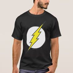 The Flash Lightning Bolt T-Shirt , Flash Lightning Bolt, Flash Superhero, Superman T Shirt, Creative Icon, The Flash, Justice League, Tshirt Colors, Dc Comics, Fitness Models