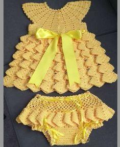 Crochet Toddler, Baby Girl Crochet, Crochet Baby Clothes, Crochet For Kids, Baby Blanket Crochet, Crochet Bikini Pattern, Crochet Flower Patterns, Baby Patterns, Crochet Crafts