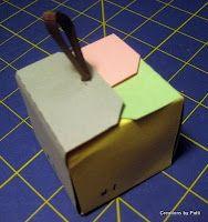 tag boxes DIY