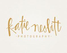 Katie Nesbitt Photography branding ------------------------------------------- by Three Fifteen Design