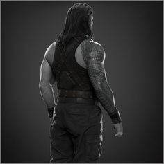 Here is another sculpt I did for WWE, Roman Reigns. Hope you like it, cheers