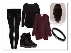 """""""Untitled #316"""" by debbiemo ❤ liked on Polyvore featuring beauty, Paige Denim, Aerie, Monki, WigYouUp and Miu Miu"""