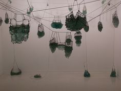 Untitled Installation [picture]. | Corning Museum of Glass Artist- Batchley, Elissa