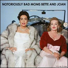 Just for fun on this Mother's Day, I thought I'd share with you 20 great vintage photos of Notoriously Bad Moms Bette and Joan With Their Daughters at http://www.ifitshipitshere.com/photos-notoriously-bad-moms-bette-joan-daughters/