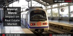 An enhancement in physical and social infrastructure always brings good news for real estate developers as well as property investors. After India's dozens of metro cites witnessed real growth, it is the time for Meerut to get better connectivity and improved transportation facilities via Metro rail.