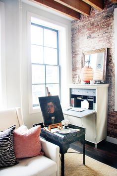 House Envy: A Rustic Manhattan Loft Tour