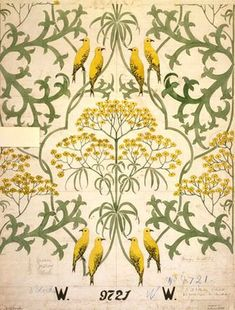 Design by Charles Francis Annesley Voysey (1857-1941)