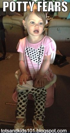 tips for potty training toddlers who are afraid of the potty
