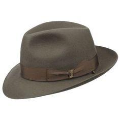 701d90e80d83aa Chapeau Borsalino Classique Chapeau Borsalino, Classic Hats, Stylish Hats,  Classy Men, Dress
