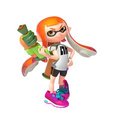 Inkling (Splatoon) - Newcomer from the Splatoon series, Male and Female palette swap; Nintendo 3ds, Nintendo Switch, Super Smash Bros, Party Characters, Nintendo Characters, Wii U, Cosplay, Splatoon 2 Game, Splatoon Costume