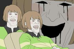 When Chara sees chocolate
