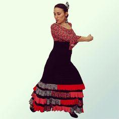 7646f44f057 42 mejores imágenes de Faldas Baile Flamenco