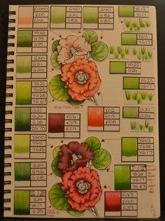 Copic Colour / Technique Journal