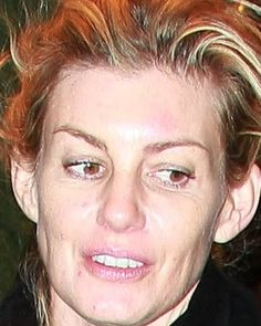 Some people said that Faith Hill without makeup is really different rather than we know her while performing her beautiful voice. As a human being...