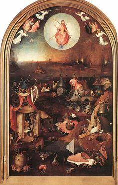 Hieronymus Bosch last judgement central panel