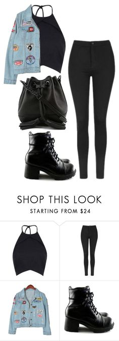 """Sin título #341"" by nare-861 ❤ liked on Polyvore featuring Rebson, Topshop, Chicnova Fashion and Rebecca Minkoff"