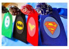 super hero lollypops