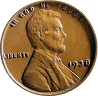 CoinTrackers Most Valuable Coins by Type | CoinTrackers.com has estimated the 1938 D Wheat Penny value at an ...