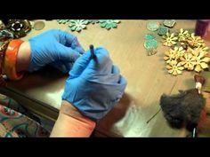 YouTube` Learn how to quickly and easily transform a piece of metal filigree using Gilders Paste, a wax based medium used to highlight objects. This video shows how to open the paste, apply it, blend, and seal using a paint brush and paper towels. Dramatic results with very little effort! Great on metal, wood, polymer clay, ceramics and more