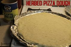 Herbed Pizza Dough - the only #recipe I will use!