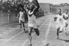 sprinters crossing the finish line - Google Search