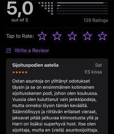 #ostanasuntojapodcast kuuntelijoista iPhonen omassa podcastappissa tilaajia on nyt 129 henkilöä. Kaikkihan on käyneet antamassa tähdet?