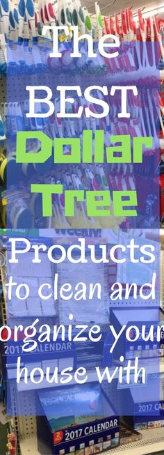 The best Dollar Tree products to clean and organize your home with.. | Tidying Up!
