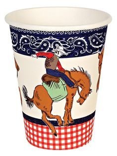Howdy Cowboy Party Cups.